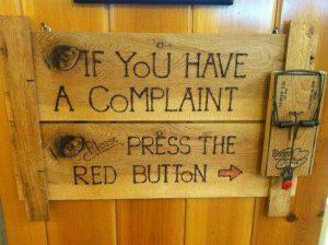 complaint-sign